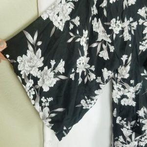 Spiritual Gangster Intimates & Sleepwear - Spiritual Gangster Maya Kimono Tie Waist Robe OS